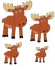If you give a Moose a Muffin-biggest to largest
