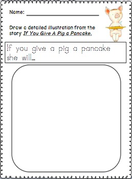 If you give a Pig a Pancake Unit 1 in the Pancake Series