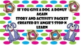 If you give a dog a donut again activity pack