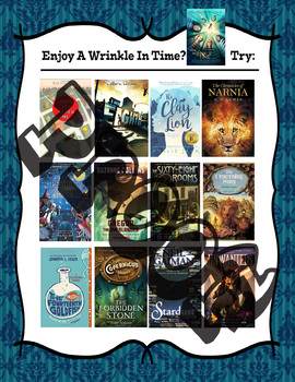 If you like A Wrinkle in Time, try.... Recommendations Poster
