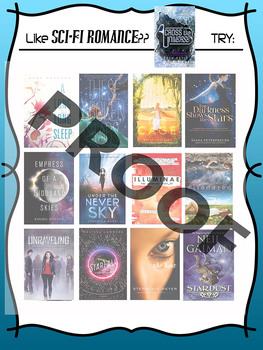 If you like Across the Universe, try ________ Book Recommendation Poster