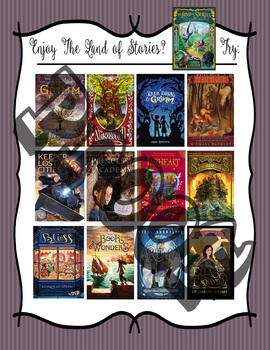 If you like The Land of Stories by Chris Colfer, try.... Recommendations Poster