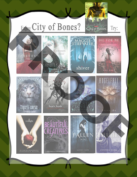 If you like The Mortal Instruments Series by Cassandra Clare, try.... Recommends