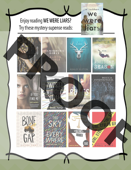 If you like We Were Liars by E. Lockhart, try.......... Re