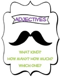 """If you """"mustache"""" Adjectives and Articles"""