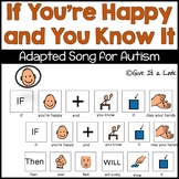 Visual Song for Autism - If You're Happy and You Know It