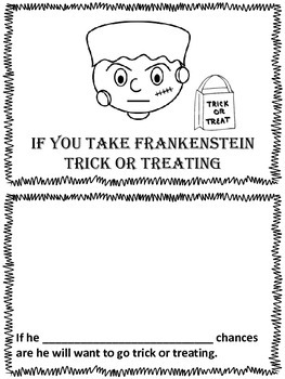 Halloween: If you take Frankenstein trick or treating. (ca