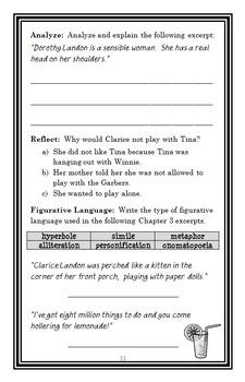 Iggie's House (Judy Blume) Novel Study / Reading Comprehension Unit  (35 pgs)