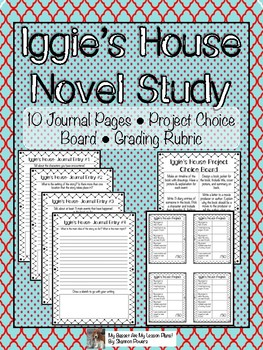 Iggie's House by Judy Blume Novel Study