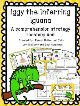 Iggy Iguana - Reading comprehension strategies teaching unit - beanie baby