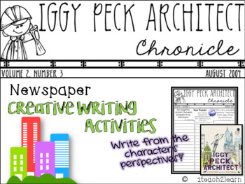 Iggy Peck, Architect - Creative Writing Activities - Growth Mindset and STEM
