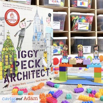 Iggy Peck Architect Engineering STEM Challenge