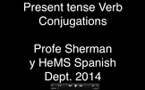 Iggy Rap- Spanish Present Tense Verb Conjugation Rap