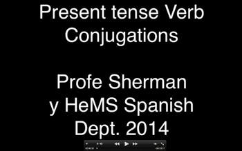 Iggy Rap- Spanish Present Tense Verb Conjugation Rap