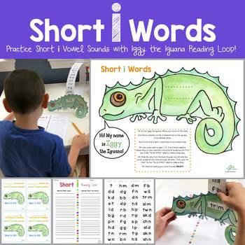 Iggy the Iguana Reading Loop (short i vowel)