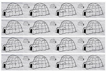 Igloo/Inuit border