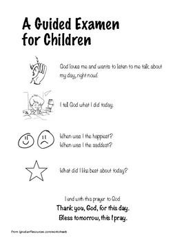 Ignatian Examen for Children