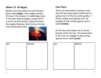 Igneous Booklet