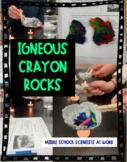 Igneous Crayon Rocks