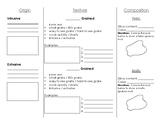 Igneous Rock Foldable - Note Sheet