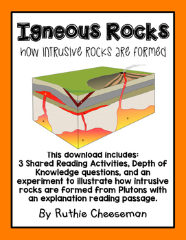 Igneous Rocks: How Intrusive Rocks are Formed