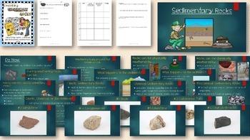 Describing Igneous, Sedimentary, and Metamorphic Rocks Bundle