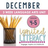Grade 4/5 Ignited Literacy DECEMBER {Pack 4} Spiralled Jun
