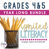 Ignited Literacy Growing Bundle - Spiralled Language Arts Program