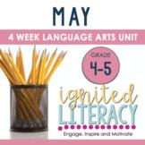 Ignited Literacy MAY {Pack 9} Spiralled Junior Literacy Program