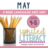 Grade 4/5 Ignited Literacy MAY {Pack 9} Spiralled Junior L