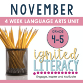 Ignited Literacy NOVEMBER Pack3 Spiralled Junior Literacy Program