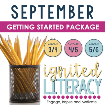 Ignited Literacy: SEPTEMBER - Pack#1:Spiralling Your Language Arts