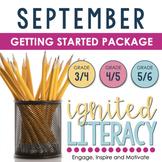 Ignited Literacy: SEPTEMBER - Pack#1:Spiralling Your Langu