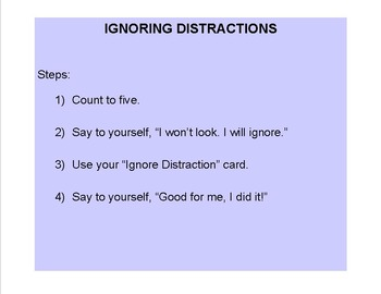 Ignore Distraction Card