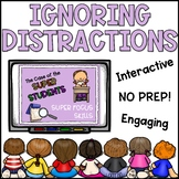 Ignoring Distractions Lesson Plan for Lower Elementary