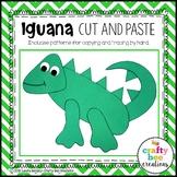 Iguana Craft   Zoo Animal Activities   Jungle Animal Craft   Reptiles   Pet