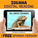 Iguana Reading Comprehension for Google Classroom