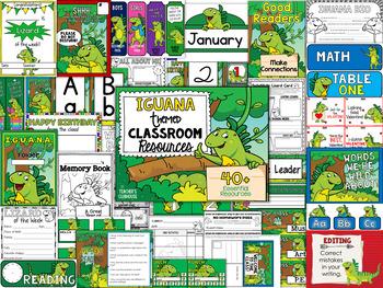 Iguana Theme Decor Pack