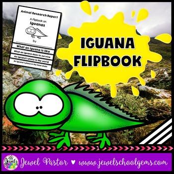 Iguana Science Activities (Iguana Research Flipbook)