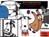 Ike is in Trouble Clip Art Pack