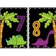 Ikea Frame Table Numbers (dinosaurs)