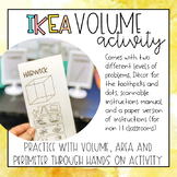 Ikea Volume Activity
