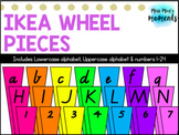 Ikea Wheel Pieces - EDITABLE