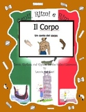 Italian Body Parts (Il Corpo) Rap-like Musical Chant with MP3