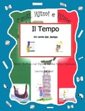 Italian weather vocabulary (Il Tempo) with this rap-like musical chant and MP3