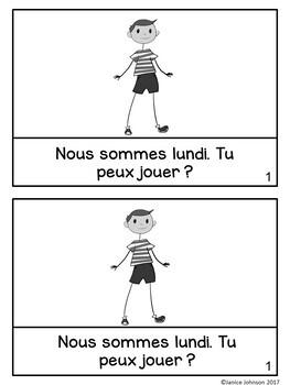 Il fait beau French Weather Reader Book {en français}