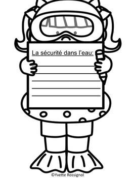 """Il fait beau! (comptine et activités pour le son """"au/eau"""") French phonics"""