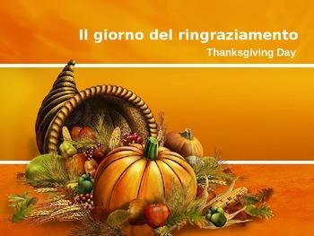 Il giorno del ringraziamento--Italian