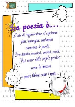 La poesia: unità didattica per la scuola primaria (15 pagine)