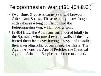 Iliad - Ancient Greece & Rome PP
